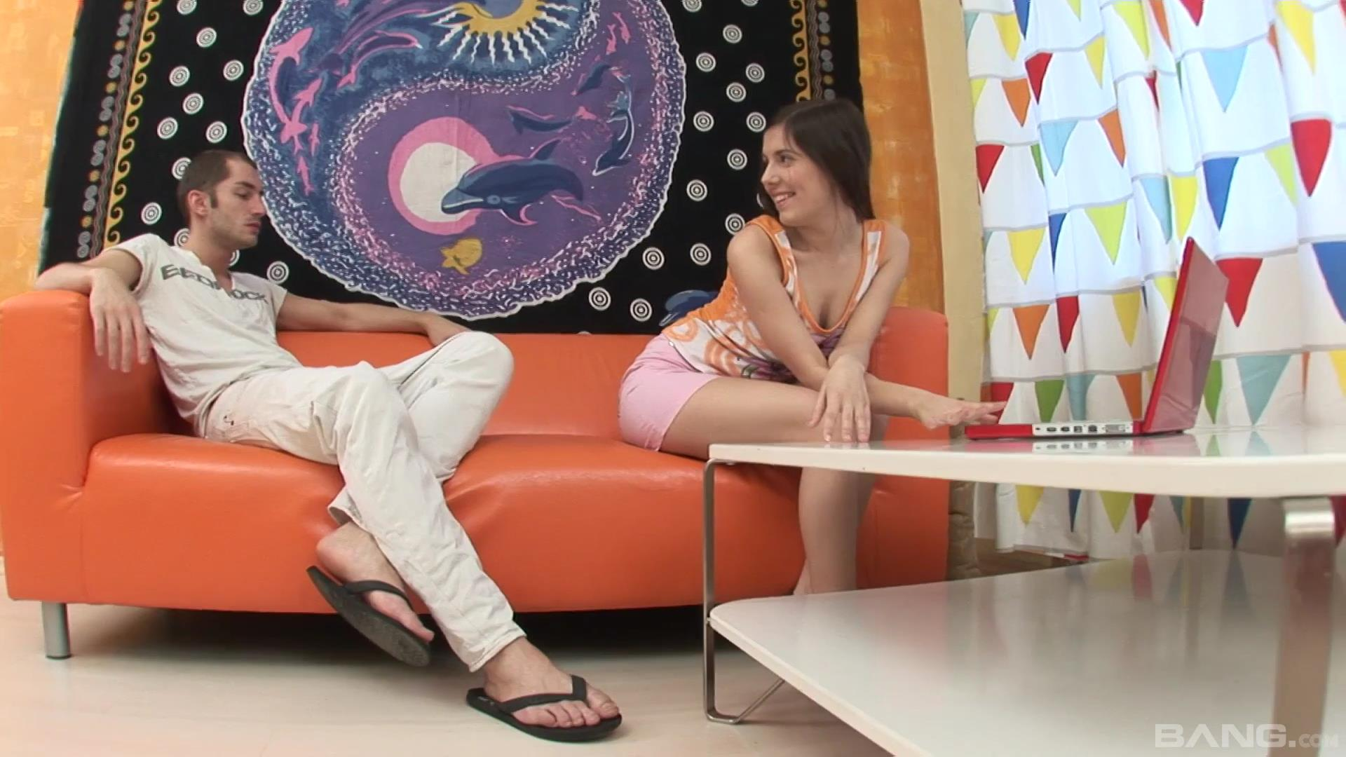 Hd Video Of A Euro Teen Getting An Anal Creampie -