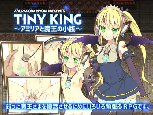(同人ゲーム)[160302][あぶらそば和] TINY KING ~アミリアと魔王の小瓶~ (Ver1.01) [RJ172319]